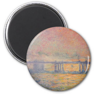 Imã Claude Monet - Saint Louis da ponte transversal de