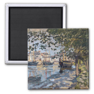 Imã Claude Monet | Seine em Rouen, 1872