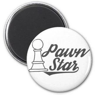 Imã clube de xadrez da estrela do penhor