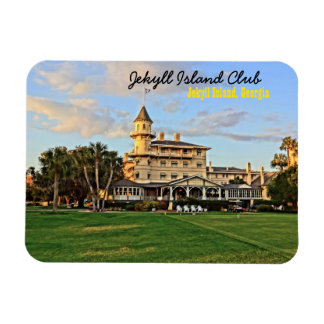 Ímã Clube histórico da ilha de Jekyll em Geórgia