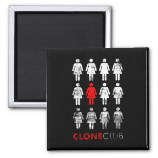 Imã Clube órfão do clone do preto | Leda