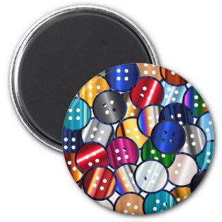 Imã Coleção do botão da cor