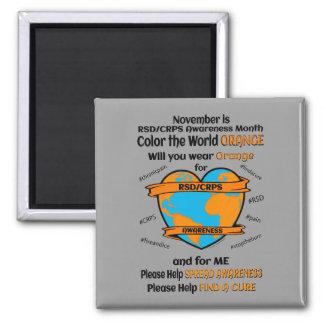Imã Colora a laranja… RSD/CRPS do mundo