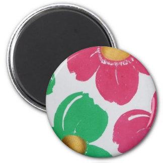 Ímã colorido da flor imã de refrigerador