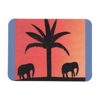 Ímã com design do elefante