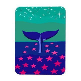 Ímã com imagem bonita da baleia