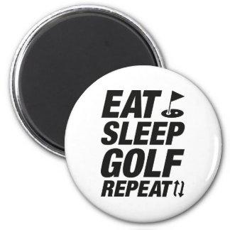 Imã Coma a repetição do golfe do sono