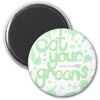 Imã coma seus verdes