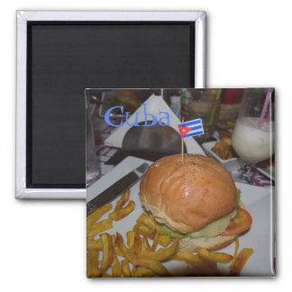 Imã Comida famosa do bar de Havana Cuba