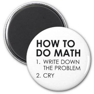 Imã Como fazer a matemática
