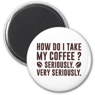 Imã Como I toma meu café