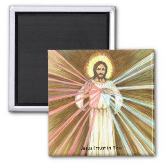 Imã Compaixão-Jesus que divino eu confio no ímã do