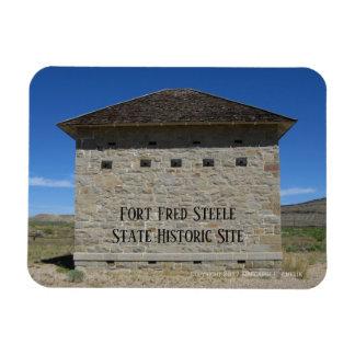 Ímã Compartimento de pó, local histórico de Fred