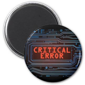Imã Conceito do erro crítico