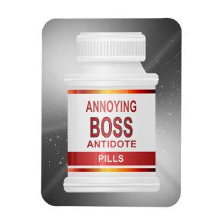 Ímã Conceito irritante do chefe