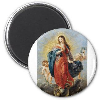 Imã Concepção imaculada - Peter Paul Rubens