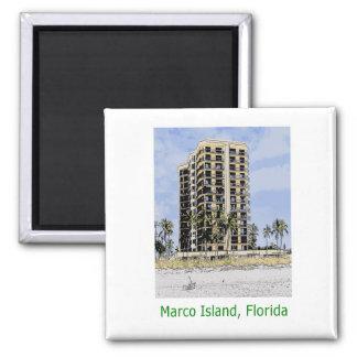 Imã Condomínio da ilha de Marco, Florida com ímã das