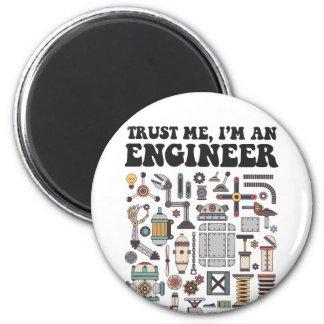 Imã Confie-me, mim são um engenheiro