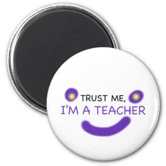 Imã Confie-me, mim são um professor