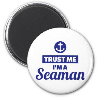 Imã Confie que eu mim é um marinheiro