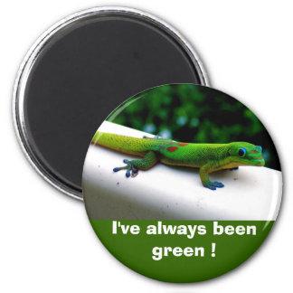 """Imã Conservação do """"pense verde"""""""