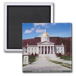 Imã Construção do Capitólio, Montpelier, Vermont, EUA