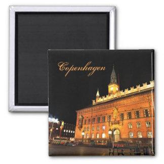 Imã Copenhaga, Dinamarca na noite