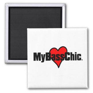 Imã Coração carmesim de MyBassChic (TM)