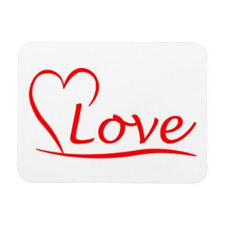 Ímã Coração com amor
