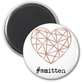 Imã Coração geométrico Smitten