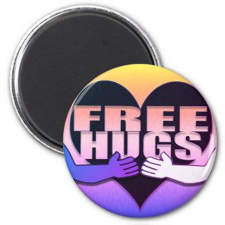 Imã Coração livre do arco-íris dos abraços