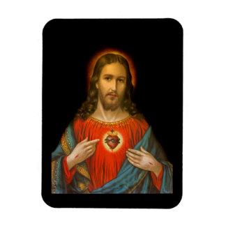 Ímã Coração sagrado de Jesus c1899