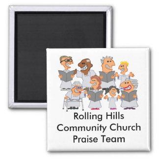 Imã Coro personalizado engraçado da igreja