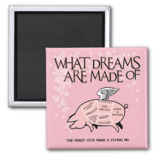 Imã Cortes do porco do vôo - que sonhos são feitos
