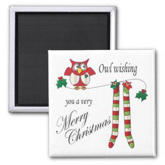 Imã Coruja desejando lhe muito o Feliz Natal
