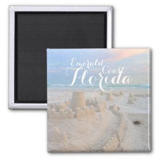 Imã Costa esmeralda, castelo da praia de Florida