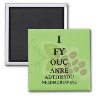 Imã Costume do humor do vinho