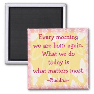 Imã Cotação da motivação da manhã de Buddha