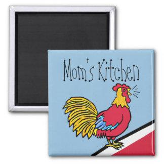 Imã Cozinha da mãe da fazenda do galo