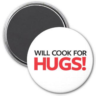 Imã Cozinhará para abraços
