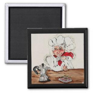 Imã Cozinheiro chefe Giuseppe