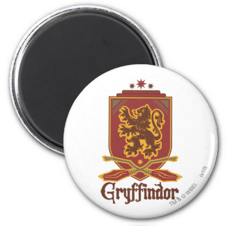 Imã Crachá de Harry Potter | Gryffindor QUIDDITCH™