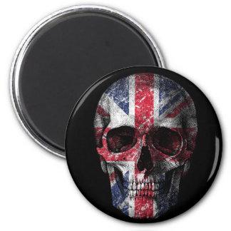 Imã Crânio BRITÂNICO da bandeira