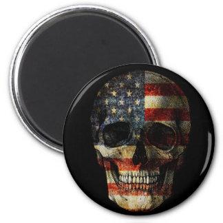 Imã Crânio da bandeira americana