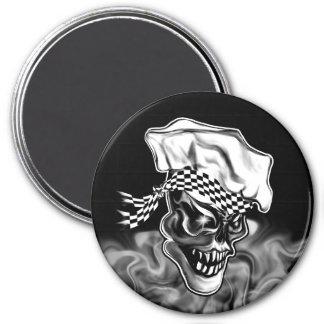 Imã Crânio de fumo 5 do cozinheiro chefe