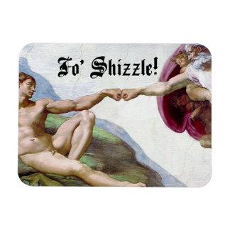 Ímã Criação de Michelangelo da colisão FO Shizzle do