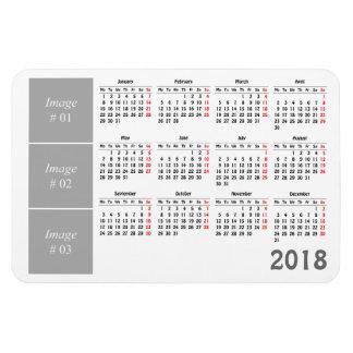 Ímã Criar seu próprio calendário 2018