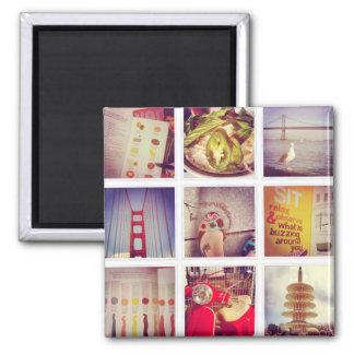 Imã Criar seu próprio Instagram ímã do quadrado de 2