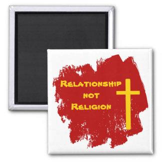 Ímã cristão da relação transversal do ouro imã
