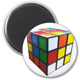 Imã cubo do quebra-cabeça dos anos 80